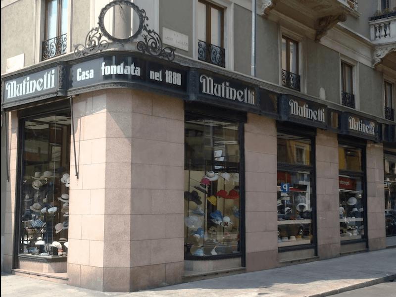 La Cappelleria Mutinelli a Milano è il posto ideale dove trovare il capricapo perfetto