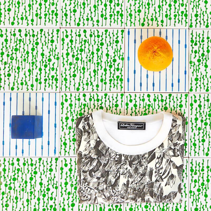 La maglia che profuma di arancia