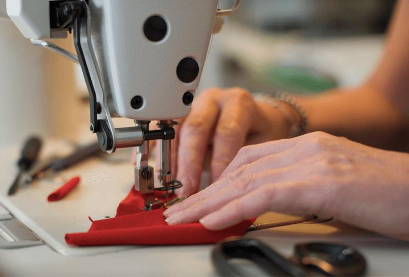 L'atelier Puro Amore realizza capi personalizzati e su misura in puro cotone biologico