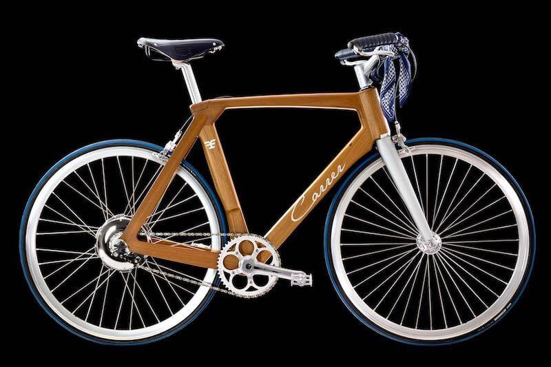 E bike fatta a mano in Italia
