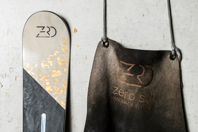 Zero Skis is artisanal and made-to-measure skis