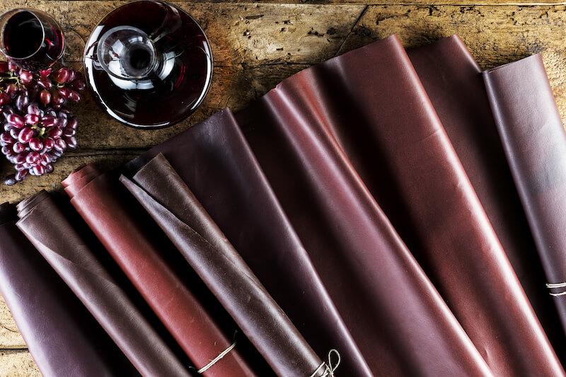 wineleather ovvero la pelle ecologica di Vegea raccontata a 1558 Magazine