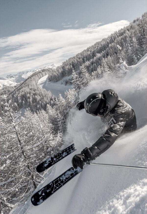 Sci tecnici artigianali e su misura di Zero Ski